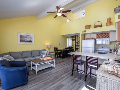 Photo for Surfside 60, two level condo conveniently located ocean block on 60th street