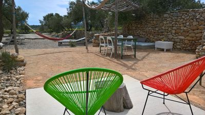 Photo for Gîte with swimming pool in nature between sea, pond, scrubland and mounting