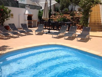 Photo for 4 Bed Villa With Private Pool, Air Con, TV and free Wifi