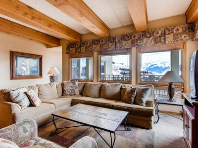 Photo for 3 Br Sleeps 8 People With Wood-Burning Fireplace