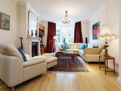 Photo for Fantastic  4 bed house, with large garden,next to Hampstead Heath (Veeve)