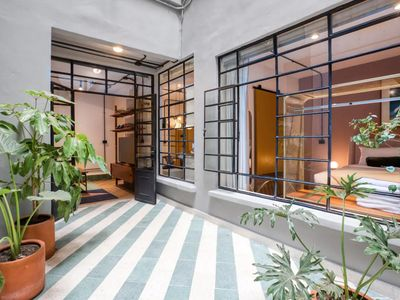 Photo for Miravalle Bracamontes - Modern 1 Bedroom Apartment with beautiful terrace in Mexico City