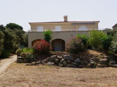 Photo for UP BEAUTIFUL VILLA WITH LARGE GARDEN AND PANORAMIC SEA country location