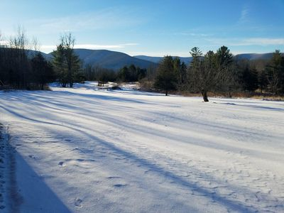 Photo for PRIVATE WATERFRONT MOUNTAIN HOME ON 6 ACRES& 15MIN TO HUNTER & WINDHAM MOUNTAIN!
