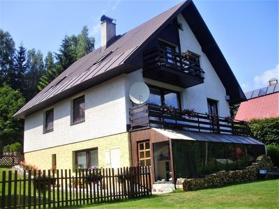 Photo for Holiday house with garden and outdoor swimming pool