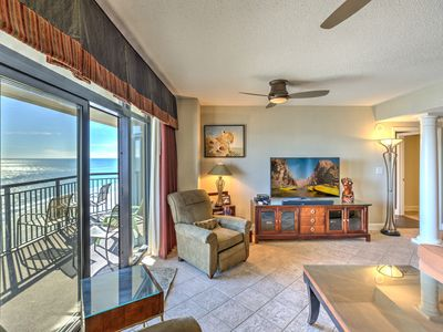 Photo for Custom,OF,4 bed,4 baths,2 masters on oceanfront!
