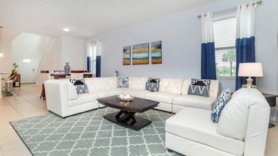 Photo for Beautifully furnished plus a South facing Pool and Spa