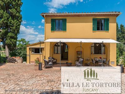 Photo for Villa private - pool, tennis, relaxing, luxury rural, in Italy, Tuscany, Siena,
