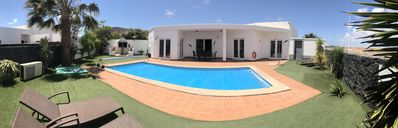 Photo for Large Detached Private Villa, FREE WIFI, uk tv channels