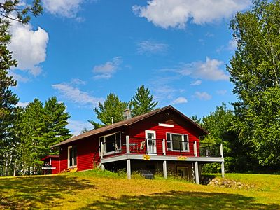 Photo for FAMILY LAKESIDE LODGE PRIVATE LAKE AND ACERAGE FISHING HIKING HUNTING AND NATURE