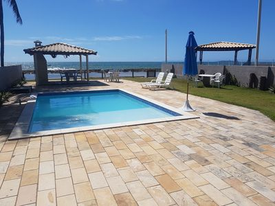 Photo for House by the sea. 7 rooms with air-conditioning. Pool. Barbecue grill. Wi-fi.