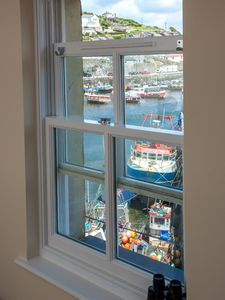 Stunning views of Mevagissey Harbour