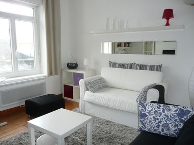 Photo for WIMEREUX - Apartment 50 m2 light while walking - WiFi