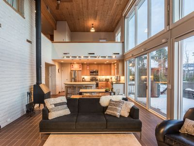 Photo for Modern Mountain Paradise | New Private Hot Tub | Grand Mountain Views | New Design