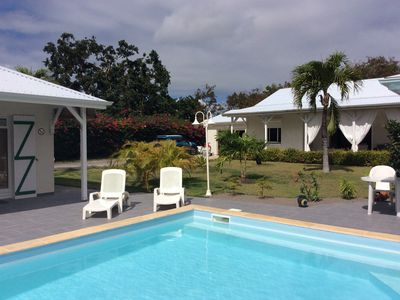 Photo for Typical Creole Bungalow in a relaxing, peaceful and green