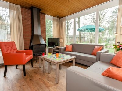 Photo for 4-person  children's bungalow in the holiday park Landal Twenhaarsveld - in the mountains/rolling countryside