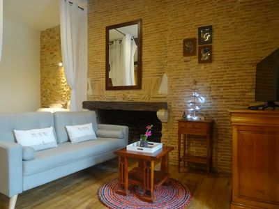 Photo for Historical Center - Habitation Saint-Clar - Romantic Loft Roxane -WIFI / Netflix