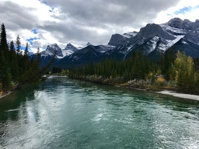 Rocky Mountains - views of Canmore