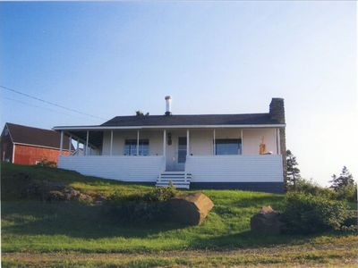 Photo for Cozy Seaside Cottage- BEST LOCATION ON THE BAY OF FUNDY SHORE!