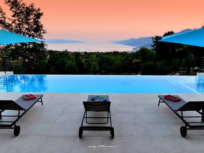 Photo for Villa with private pool and amazing sea view