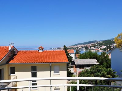 Photo for One bedroom apartment with balcony and sea view Selce (Crikvenica)