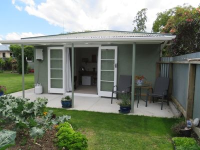Photo for Private, quiet garden setting minutes from town