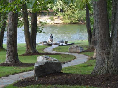 Lake Front Relaxation w/ Hot Tub Year Round & Available Pontoon Boat!