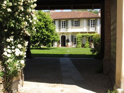 Photo for The Lime Tree, old renovated farmhouse on the hill of Turin
