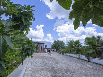 Photo for Stunning detached villa with private pool and large garden