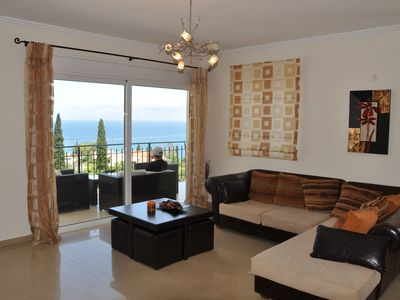 Photo for Villa Spiros with private pool & breakfast