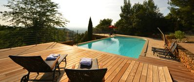 Photo for A magical place: Provence stonehouse with pool