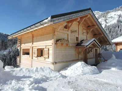 Photo for Beautiful chalet with exceptional view - 8 PEOPLE