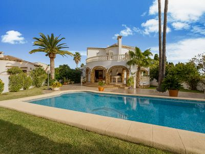 Photo for Detachted villa with private swimming pool in El Verger, Costa Blanca
