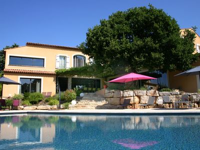 Photo for Villa 510 m² 450m from the center of one of the 'most beautiful villages in F