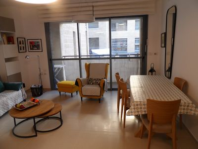 Photo for The Excellence: Fully Equipped New 2 BR, Near Emek
