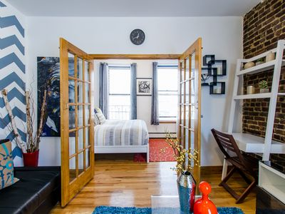 Photo for Time Square Modern,Charming, & Cozy 1BD , Apartment In Hell's Kitchen ,NY