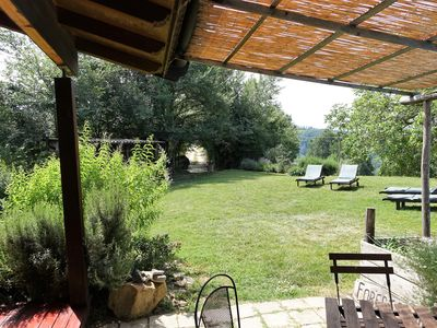 Photo for The natural wooden cottage in Le Marche, 20 min Sibillini Nat Park, 40 min sea