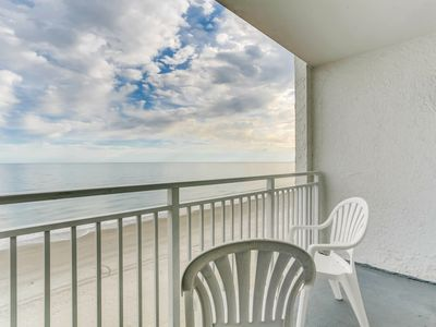 Photo for Newly Upgraded Oceanfront Tides Condo
