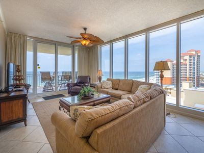 Photo for WOW! Luxurious, Breathtaking/The Colonnades/GS/Direct Beach Front/WiFi/Owner Mgd