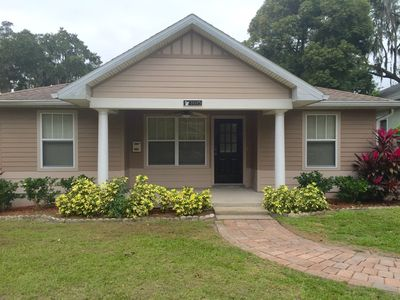 Front of this charming 3 bedroom bungalow. More photos next week.