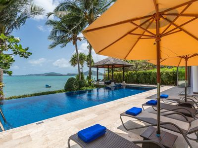 Photo for Up to 50% OFF | Baan Leelawadee, 4BR beachfront