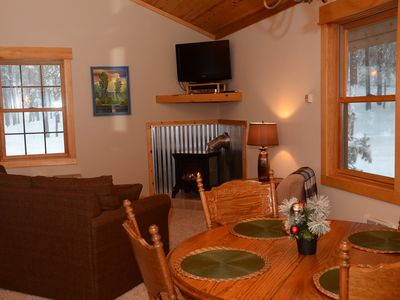 Photo for Alpine Valley Loft-Perfect Little Getaway Close to the Ski trail!