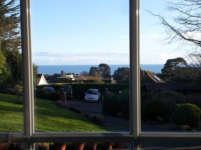 Photo for The Garden Studio: Sunny apartment with fabulous sea views
