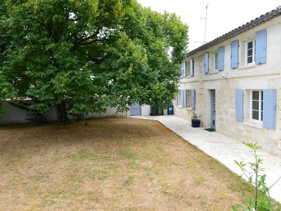 Photo for renovated Charentaise property with private pool. 9 beds. accepted animals