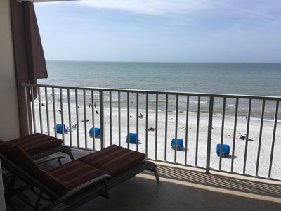 Photo for View Sunsets over the Gulf on Your Balcony!