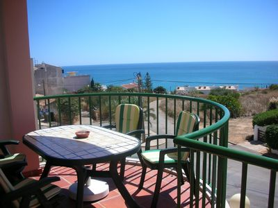 Photo for Spacious luxury two bedroom apartment with superb sea views