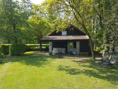 Photo for Cosy holiday home in wonderful natural area, just outside Leenderstrijp, Brabant province