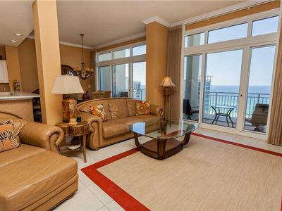 Photo for Stunning Penthouse Condo W/ Gulf Views & Bedding For 12