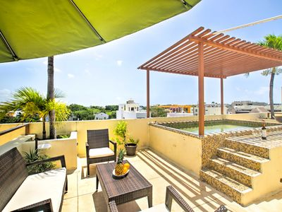Photo for NEW! Playa del Carmen Penthouse w/ Pool-Near Beach