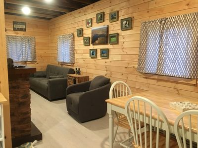 Photo for Cottage- romantic get away, girls getaway, family get away! Beautiful inside.